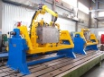 Robotic center for welding of heating boilers