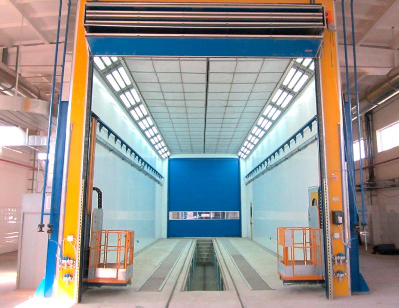 Industrial Painting Booths : Industrial paint booths booth