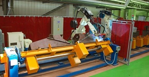 Automatization, robotization of welding facilities