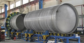 Equipment for tank containers and railway tank vessels manufacture